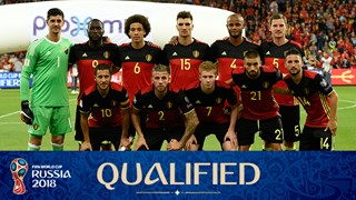 team photo for Belgium