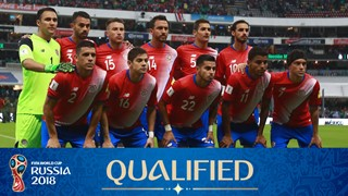 team photo for Costa Rica